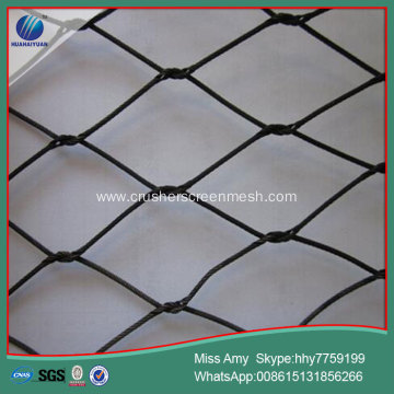 black oxide SUS304 zoo mesh wire rope netting