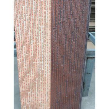 Insulated decoration external wall materials