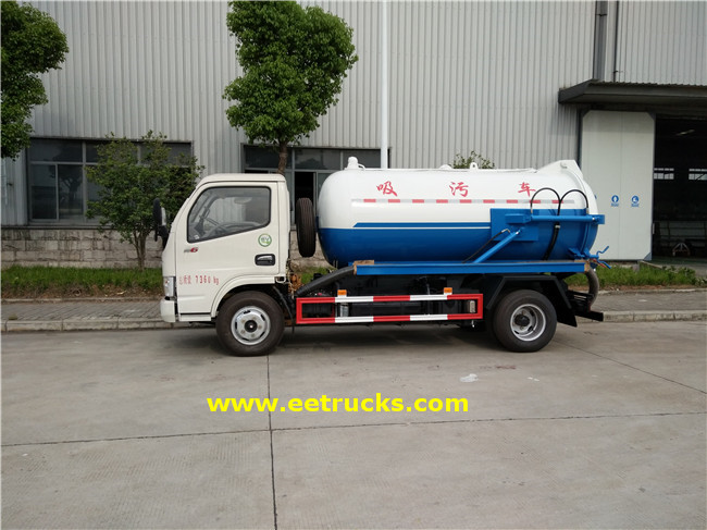 700 Gallon Vacuum Sewage Suction Trucks