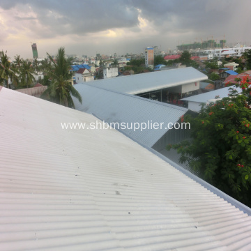 Iron Crown MgO Heat-Resistant Corrugated Roofing Sheet