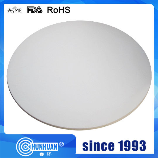 100% Virgin PTFE Molded Sheet Round Board