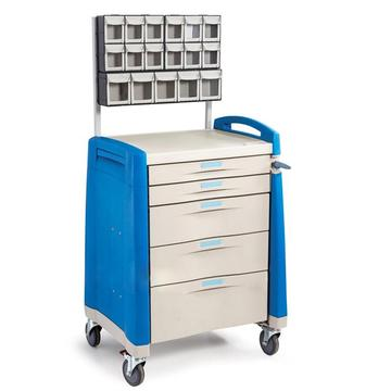 European pyramid stability design ABS anesthesia cart