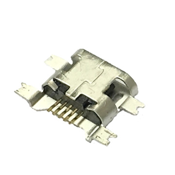 Micro USB 5P Receptacle  SMT Drop-in 1.27mm