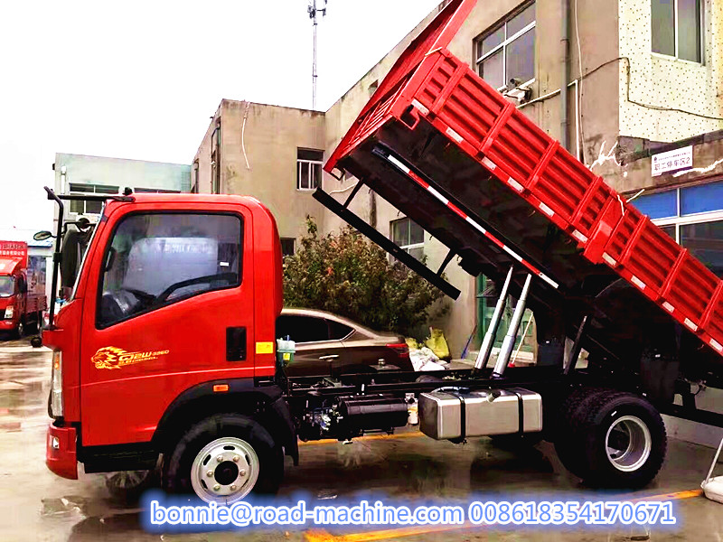SINOTRUK 4x2 light Dump Trucks Tipper Truck