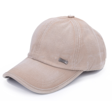Customized for Wash Baseball Cap Enzyme Washing Metal Brand  Cap. export to Qatar Manufacturer