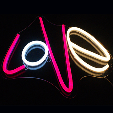 LOVE LED NEON LETTERS SIGN