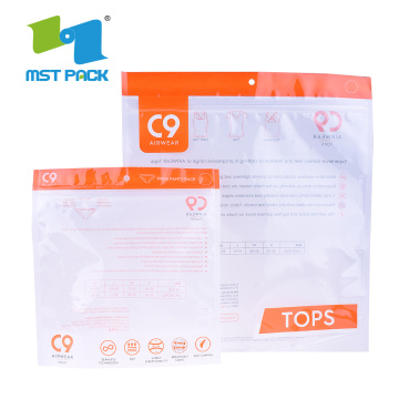 Eco-Friendly 3 Side Sealed Bag Custom Printing Biodegradable
