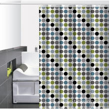 Waterproof Bathroom printed Shower Curtain 74 Inches Long