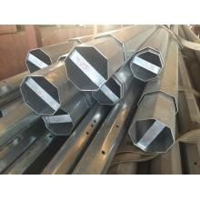 China Cheap price for Galvanized Transmission and Distribution Pole Slip Joint Steel Pole export to Hungary Manufacturer