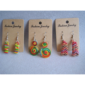 Multicolor Thread Weaved Earring Wholesale Thread Earring