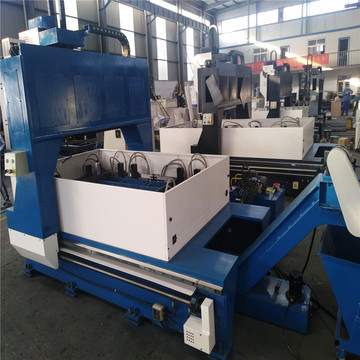 High precision PLC control cnc Boiler drilling machine