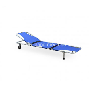 Back  Adjustable Emergency Rescue  Aluminum Folding Ambulance  Stretcher