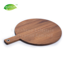 China for Pizza Board Square Round Paddle Acacia Wood Pizza Board export to Russian Federation Supplier