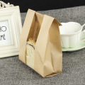 Bread paper bag with window