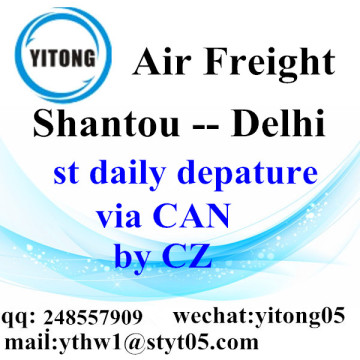 Shantou International Air Freight Forwarding to Delhi