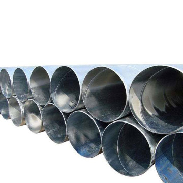 Galvanized Ssaw spiral steel pipe line