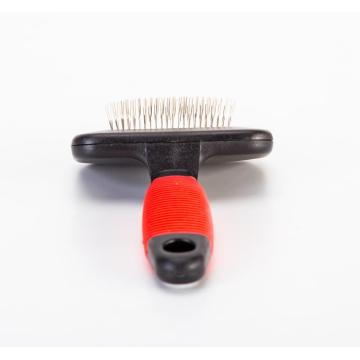 Percell Medium T-Shape Stainless Steel Slicker Brush