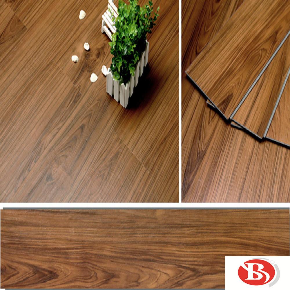 Durable 4mm Interlock Click Lvt Spc Flooring Pvc China