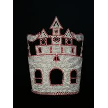 10 Inch Tall Castle Crown Princess Tiara