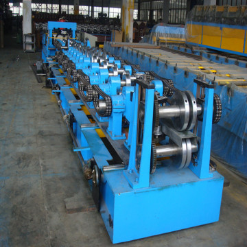 Automatic steel c channel roll forming machine