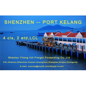 LCL Consolidation Shipping from Shenzhen to Port Kelang
