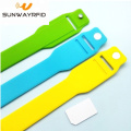 RFID Pocket Silicone Wristband Bracelet with card insert