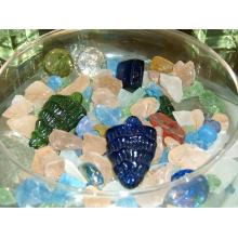 Crushed beach glass assorted