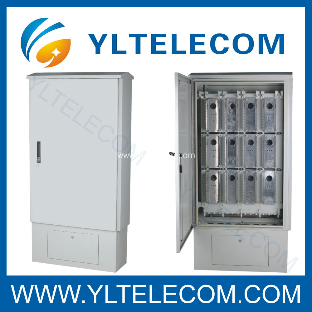 Outdoor Distribution Cabinet with Stand 1200 or 2400 pairs