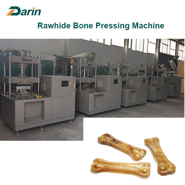 Rawhide Dog Chewing Bone Pressing Machinery