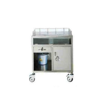 Stainless steel anesthesia car (semi-sealed)