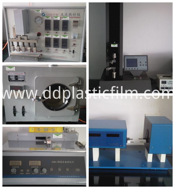 transparent PET releasing liner release film test equipment