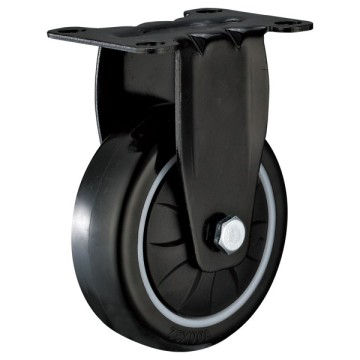 63mm Fixed Industrial PU Caster with PP core