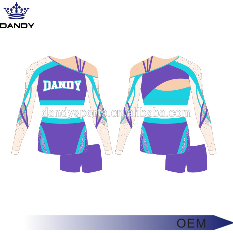 charming mesh cheer uniform
