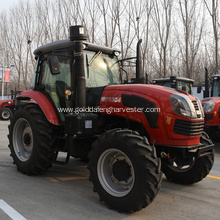 China New Product for 150Hp Wheeled Tractor natural intake wheel drive 4WD farmer use supply to Malta Factories
