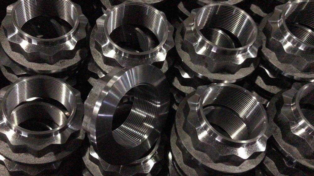 Cnc Machining Hardware Union Fitting Elbow Nipple