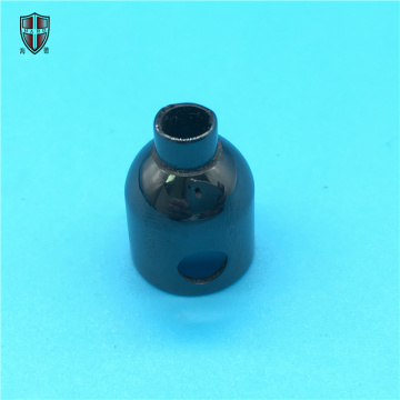 precision machining zirconia ceramic cap lid cover sleeve