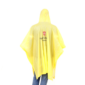 Promoted PVC rain poncho