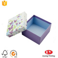 small wedding gift cardboard box with lid