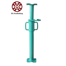 Scaffolding prop adjustable steel support