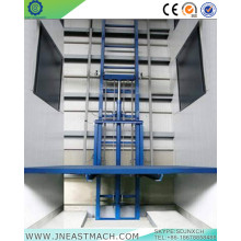 3.0t 8m Stationary Rail Freight Elevator Cargo Lift