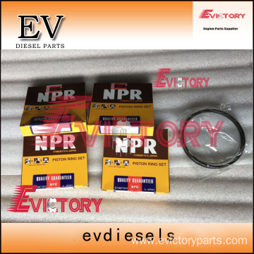 HINO engine parts piston W04E piston ring