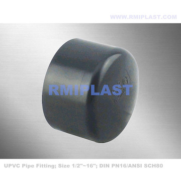 PVC Pipe Fitting End Cap