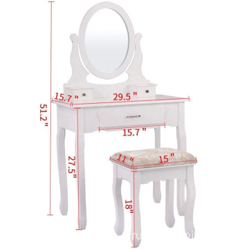 Modern furniture 1 mirror plywood dressing table designs price