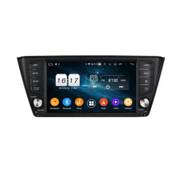 Android car radio audio for Skoda Fabia 2015-2017