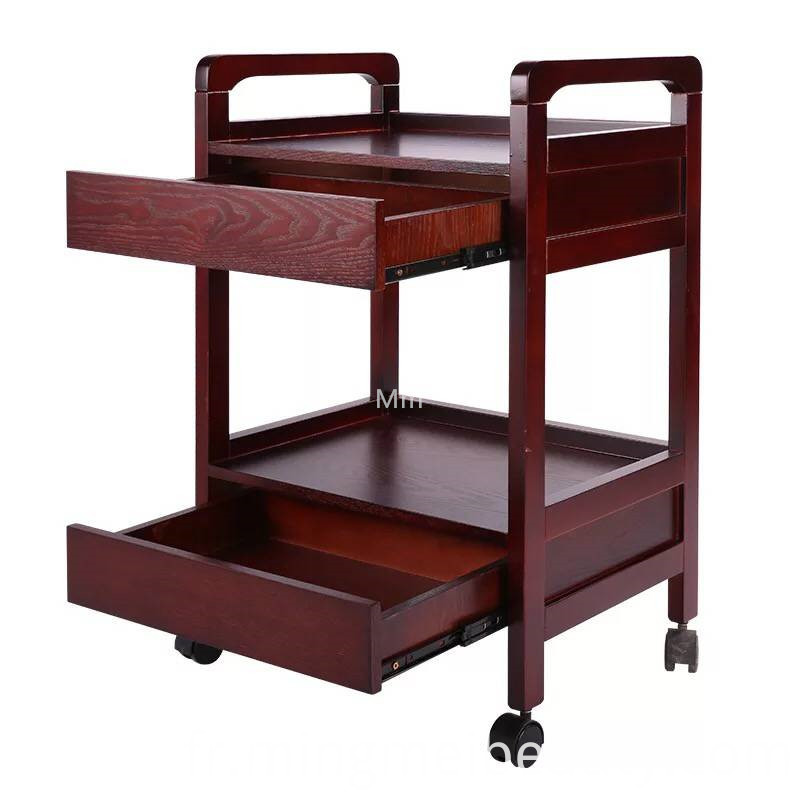 salon trolley with drawer