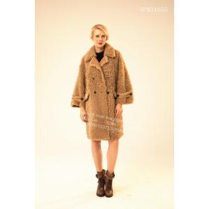 Icelandic Lamb Fur Outward Coat