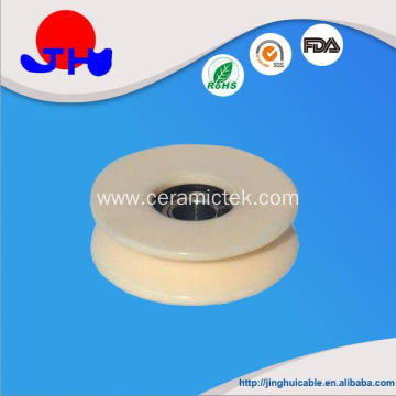 High Quality for Textile Ceramics Solid ceramic pulley with bearing export to India Suppliers