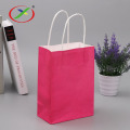 Full printing Customized logo supermarket paper bag