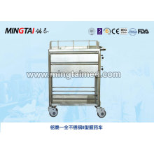 Stainless steel drug carrier