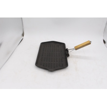Home use square Cast Iron Skillet